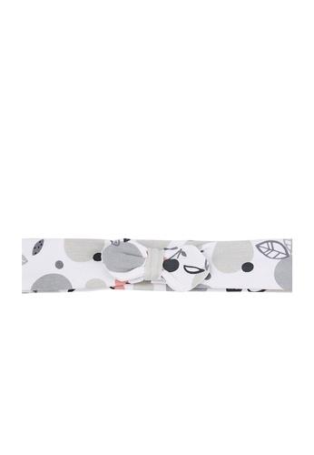 Du Pareil Au Même (DPAM) white Bow Headband C69D7KCD93495BGS_1