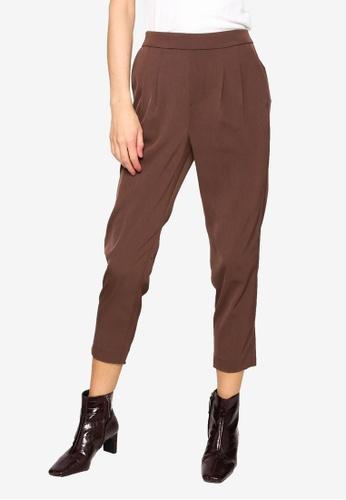 LOWRYS FARM brown Casual Pants E36EFAA2513A38GS_1