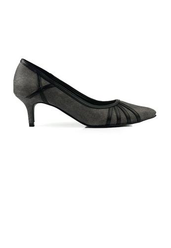 SHINE black SHINE Point Toe Heel Pumps 664CCSH9E508FFGS_1
