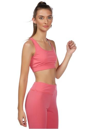 London Rag pink Everyday Pink Yoga Active Top 80EA1AA14C09DAGS_1