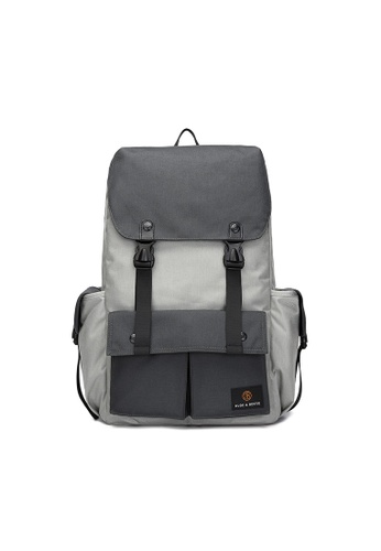 The Dude grey Predator Backpack 33EE1AC86DFDD5GS_1