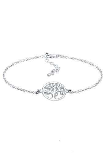 Elli Germany silver Perhiasan Wanita Perak Asli - Silver Gelang Coin Tree 82E0EAC14239F7GS_1