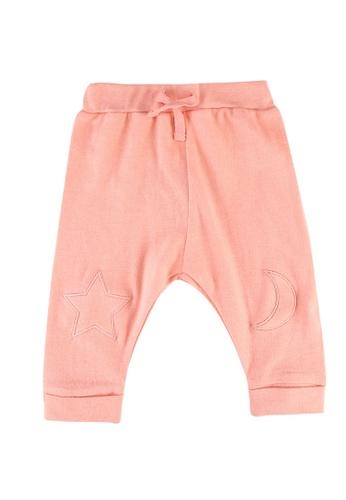 FOX Kids & Baby pink New Born Plain Leggings 00398KA0C1956DGS_1