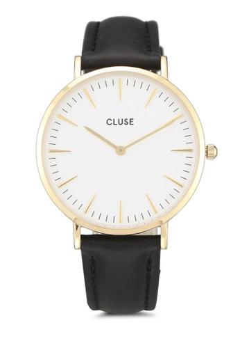 CLUSE black La Boheme Gold White/Black 5FF54AC932ED58GS_1