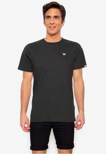 Wrangler green Round Neck Jaspee Cotton T-Shirt 02BB1AAD234015GS_1