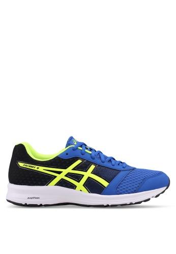 Asics blue Patriot 9 Shoes AS989SH0SVSFMY_1