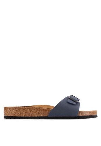 Birkenstock navy Madrid Sandals BI090SH47CRSMY_1