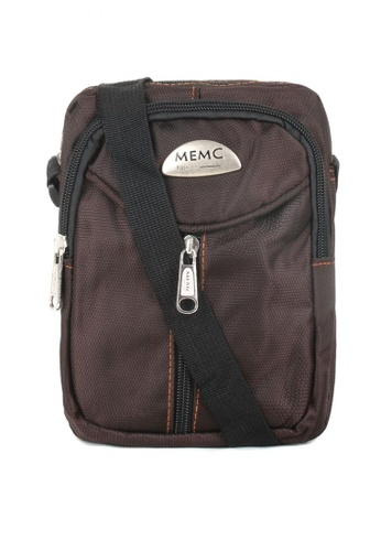 Attraxion Men's and Accessories brown Attraxion Devon 613 Crossbody Bag for Men 13F55AC442E6D6GS_1