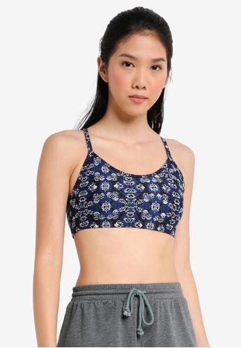 Cotton On Body blue Workout Yoga Crop Bra 1DE79US4338273GS_1