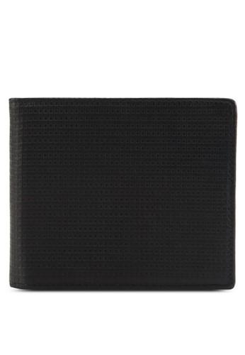 格紋皮革半數短夾、 飾品配件、 飾品配件UniqTee格紋皮革半數短夾最新折價