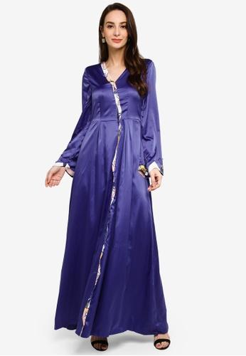 Jovian Mandagie for Zalora purple Lilo Modern Dress FC653AAA72CBF1GS_1