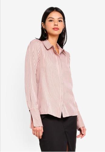 Vero Moda black Nanna Long Sleeve Shirt 1C4B4AAF7AFB03GS_1