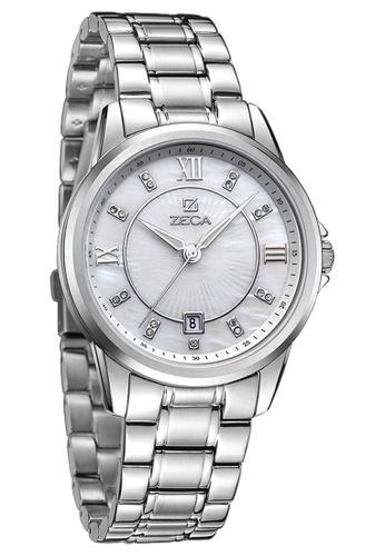 ZECA silver Zeca Watches Couple Men Fashion - 308M Silver ZE260AC82SKZSG_1