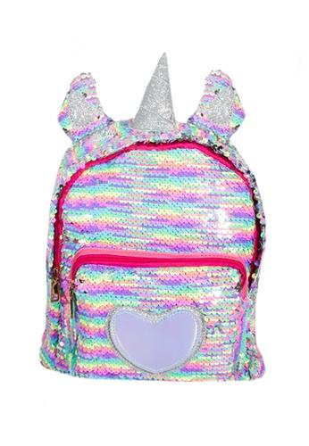 Adkidz multi ADKIDZ Unicorn Flip Sequin Backpack EECDDKCE6B31A6GS_1