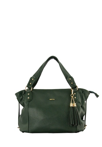 SEMBONIA green SEMBONIA Synthetic Leather Hobo Bag A2010AC92F21D5GS_1