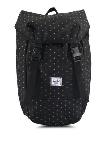 Herschel black Iona Backpack 96450AC8B4597BGS_1