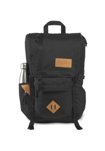 Jansport black Jansport Unisex Hatchet Backpack Black - 28L D0613AC6A0EE3EGS_1