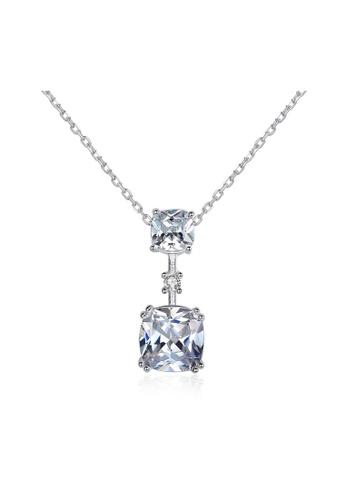 SUNRAIS silver Premium Silver S925 Silver Fashion Necklace 5061CAC71E5452GS_1