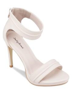 Platform Open Toe Sandal Heels