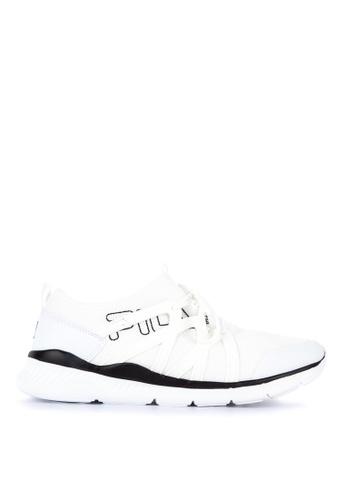 Fila white Tame Lite Running Shoes CF58ESH9A8511EGS_1