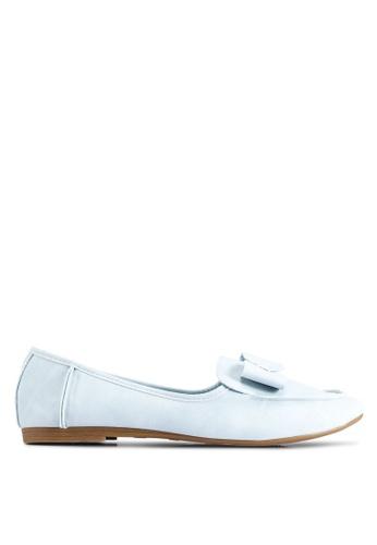 BETSY 藍色 Mila Ribbon 平底鞋 9F925SH5B7B948GS_1