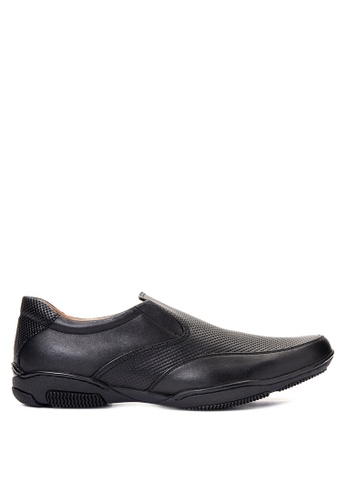 Gibi black Men's Dress Shoes GI342SH12UWXPH_1