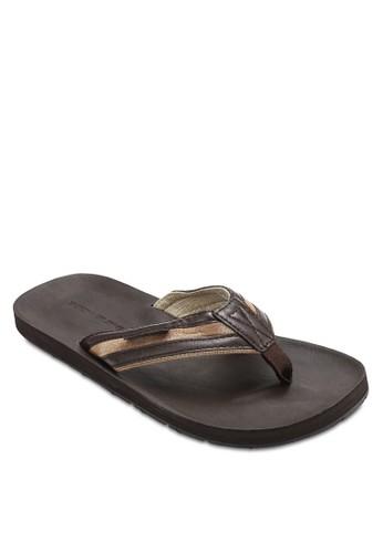 拼色夾腳涼鞋zalora 男鞋 評價, 鞋, 鞋