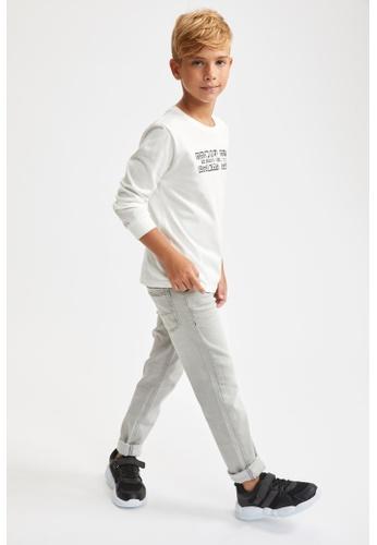 DeFacto grey Denim Trousers FD41AKACA32D4DGS_1