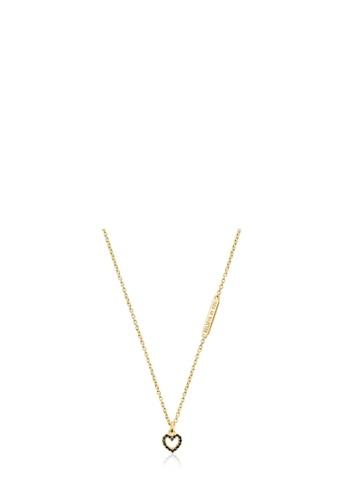 Tous gold TOUS Silver Vermeil Valentine's Day Necklace with Heart Pendant 2D72BAC1937B82GS_1