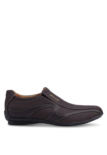 Louis Cuppers brown Faux Leather Shoes 89119SH3A96CF2GS_1