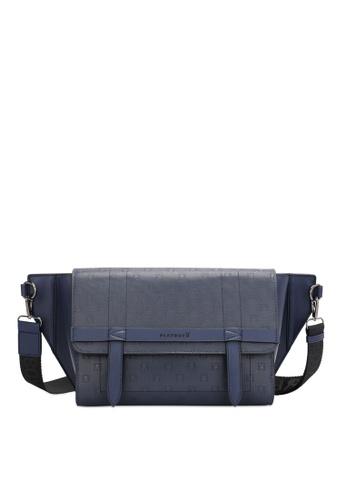 Playboy blue Men's Sling Bag / Chest Bag / Crossbody Bag 20A77AC0983E4CGS_1