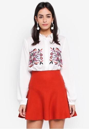 Vero Moda white Wendy Long Sleeve Shirt F6AAAAA5EBB88FGS_1