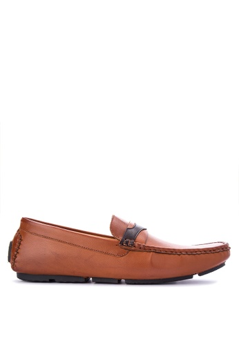 H2Ocean brown Nahum Shoes H2527SH0K3E6PH_1