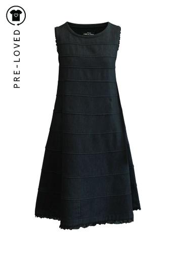 Comme Des Garçons blue Pre-Loved comme des garçons A-line Dress With Pockets 36196AA58CC017GS_1