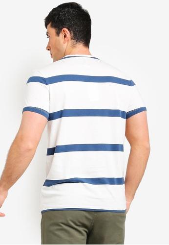 d857e0577df Buy Jack Wills Ezra Stripe Retro T-Shirt Online on ZALORA Singapore