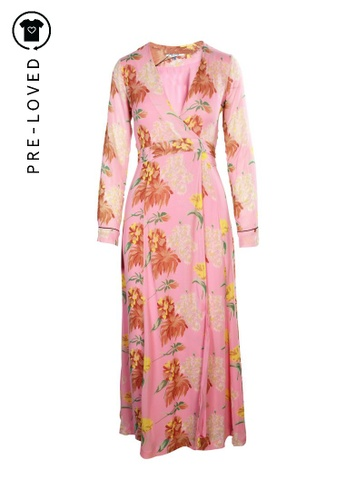 Ganni pink Pre-Loved ganni Maxi Dress F032FAAD5DDE96GS_1