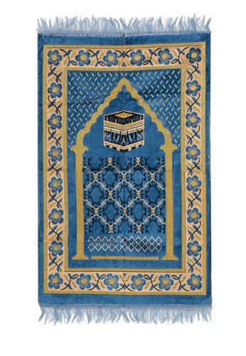 SHALIMAR blue Sejadah Basic Design SH713AA10SBTID_1