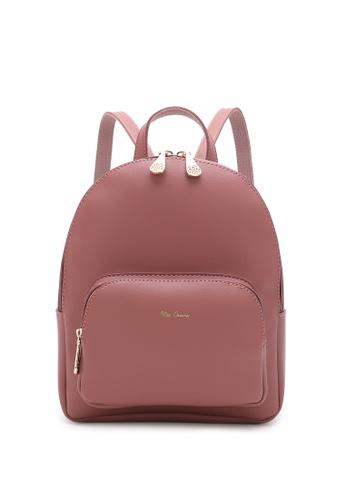 Wild Channel pink Women's Casual Backpack DFEEFACFD95B2CGS_1