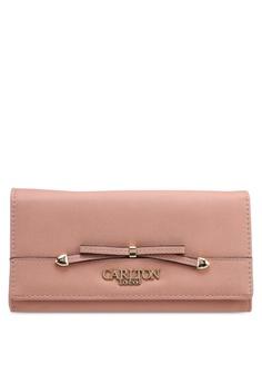 0694d402b411b1 Carlton London pink Bow Front Wallet 499E9AC2B76505GS_1