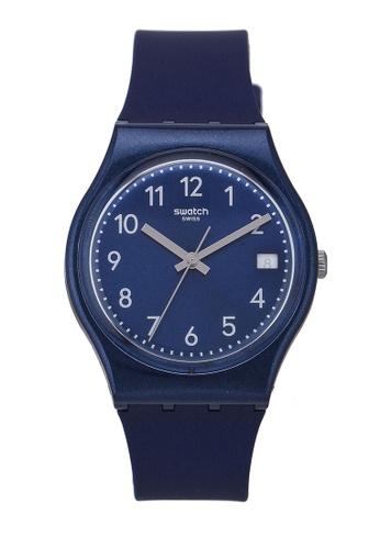Swatch blue Silver In Blue Watch DD9CCAC71239E3GS_1