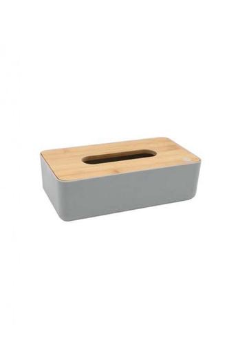 Primeo grey Premium Bamboo Gray Tissue Box 933F1HLDC46062GS_1