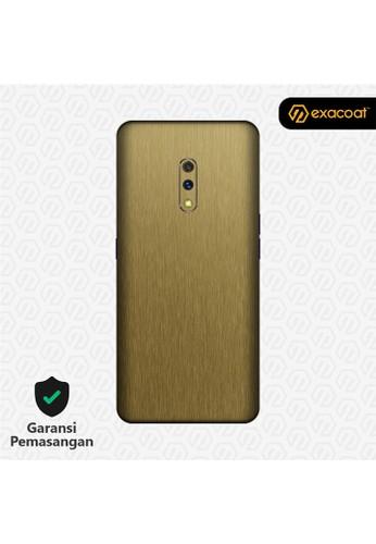 Exacoat Realme X 3M Skins Titanium Series - Titanium Gold EEE5AES826B6B9GS_1