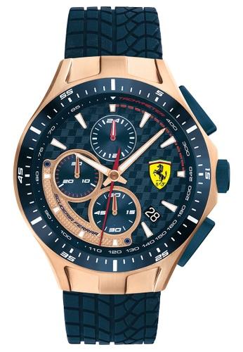 Scuderia Ferrari blue Scuderia Ferrari Race Day Blue Men's Watch (0830699) 06660ACE50986DGS_1