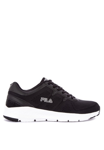 Fila black Adaptable Running Shoes 8C5BASH90DDD93GS_1