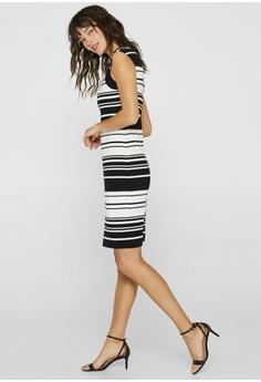 ace5756f84071 58% OFF ESPRIT Jersey Sheath Dress S$ 119.95 NOW S$ 49.95 Sizes XS S M L