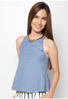 Jelly Chambray Top