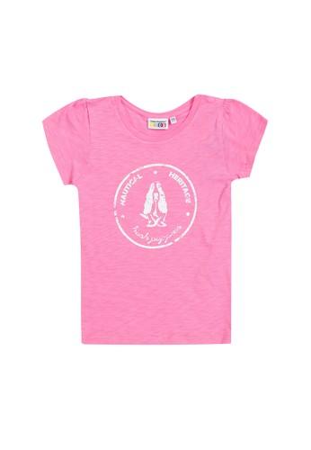 Hush Puppies pink Grizelle Tee 73391KA473167AGS_1