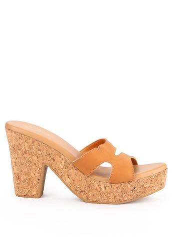 Mandy's orange Mandys Miakki Apricot Heels B2258SHD36D693GS_1