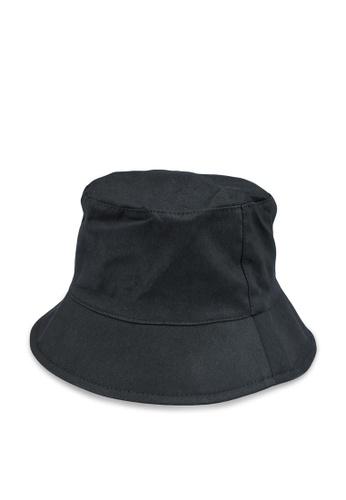 Pieces black Nabby Bucket Hat 6C7DAAC4F7680CGS_1