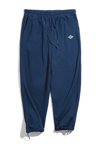 Twenty Eight Shoes blue VANSA  Solid Color Knitted SweatPants  VCM-P1901184 BC94BAA4B9E1EAGS_1